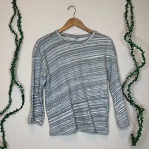 & Other Stories Heathered Gray Pullover